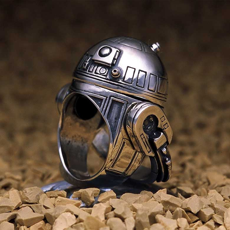 Gorgeous silver Star Wars rings