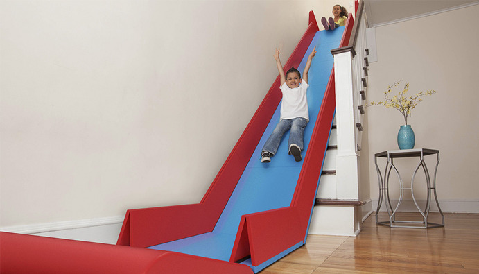 Exceptionnel ... Helping Inventor Trisha Cleveland Develop The Dreams Of Everyone With A  Second Floor Into A Foldable And Practical Product. The Foam Pieces Fold Up  Into ...