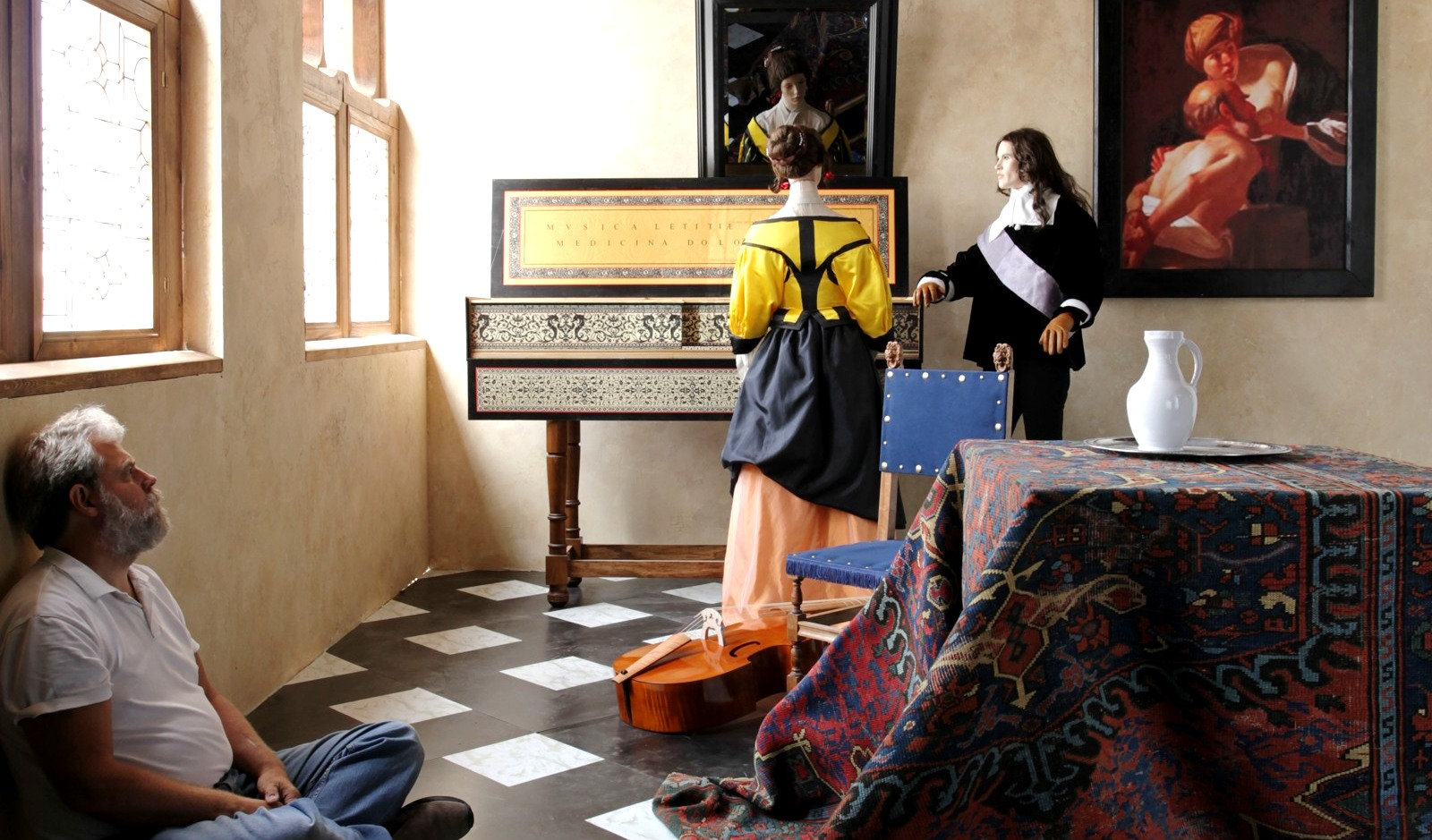 Vermeer's paintings might be 350 year-old color photographs