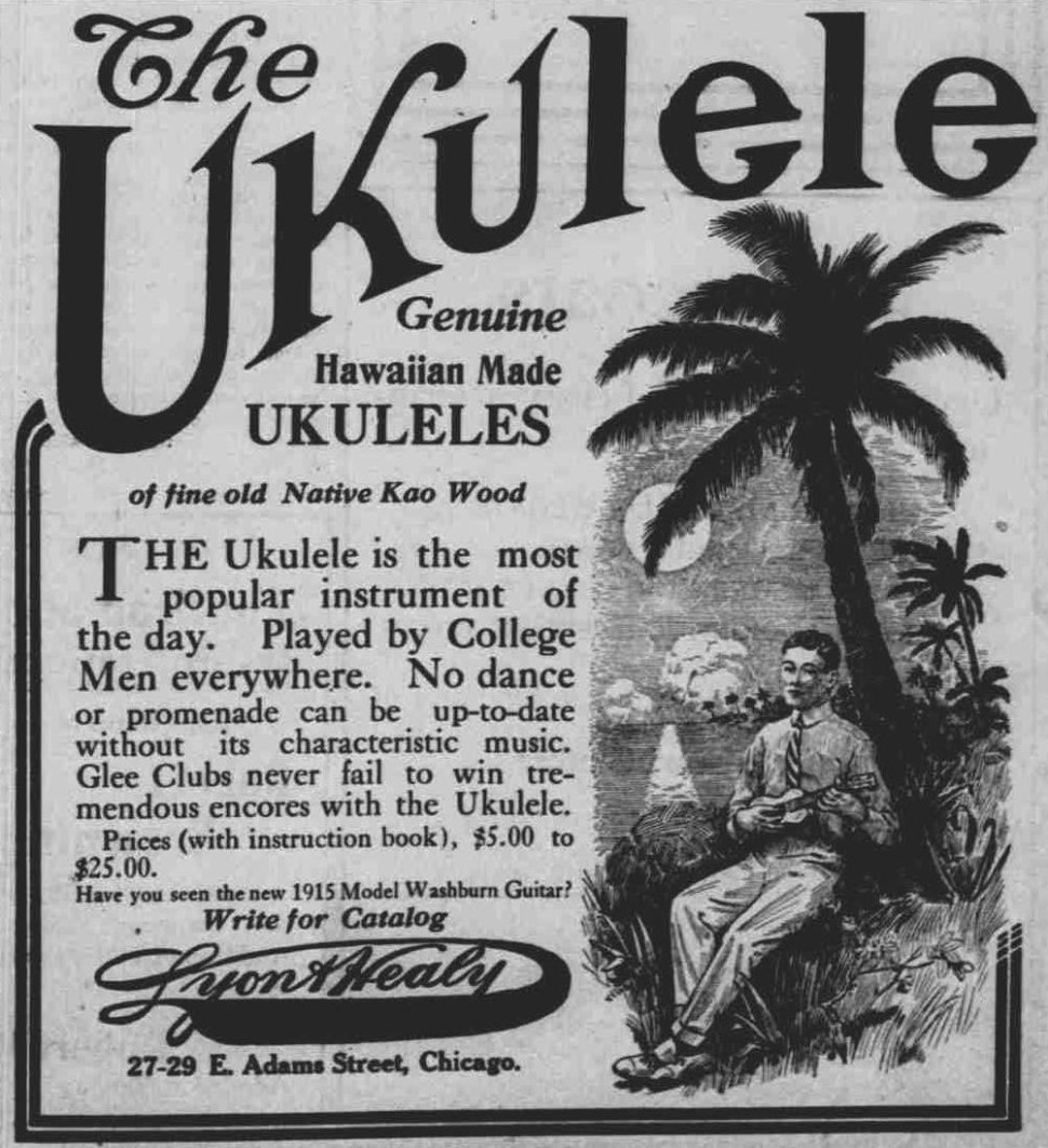 Ukuleles Everyone S Playing Them Ads From The Great Uke