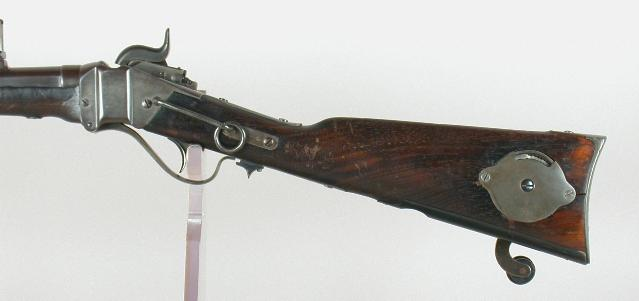 Civil War carbine with a