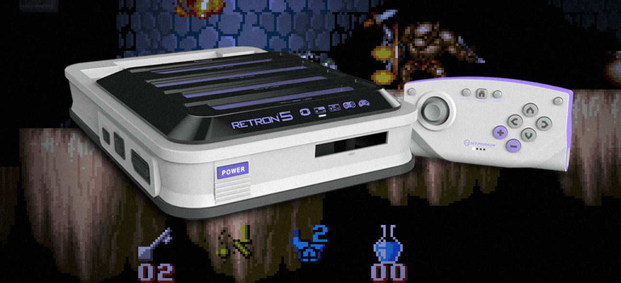 With 10 consoles in one, does the Retron 5 have what it takes?