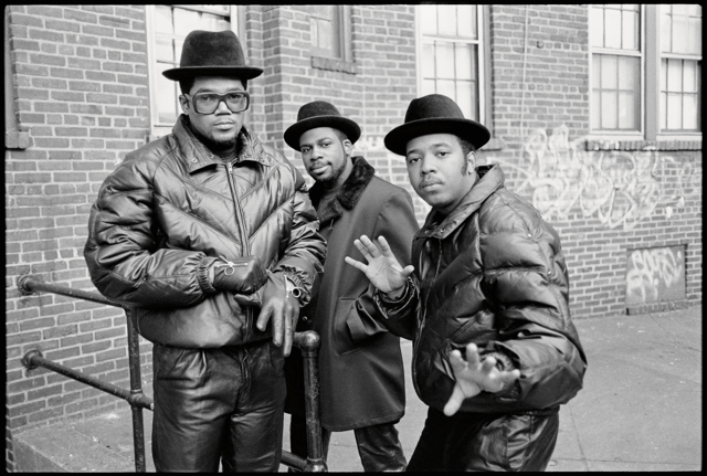 "Run-DMC, Jam Master Jay, 1985, Hollis Queens, New York. Photo: Glen E. Friedman, from ""My Rules."""