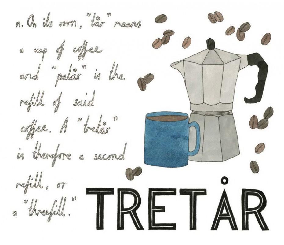 Tretar - Swedish, noun