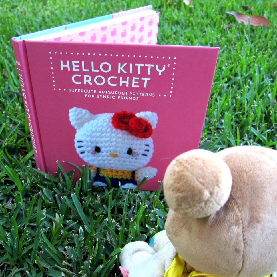Book of supercute crochet patterns for Sanrio Friends / Boing Boing