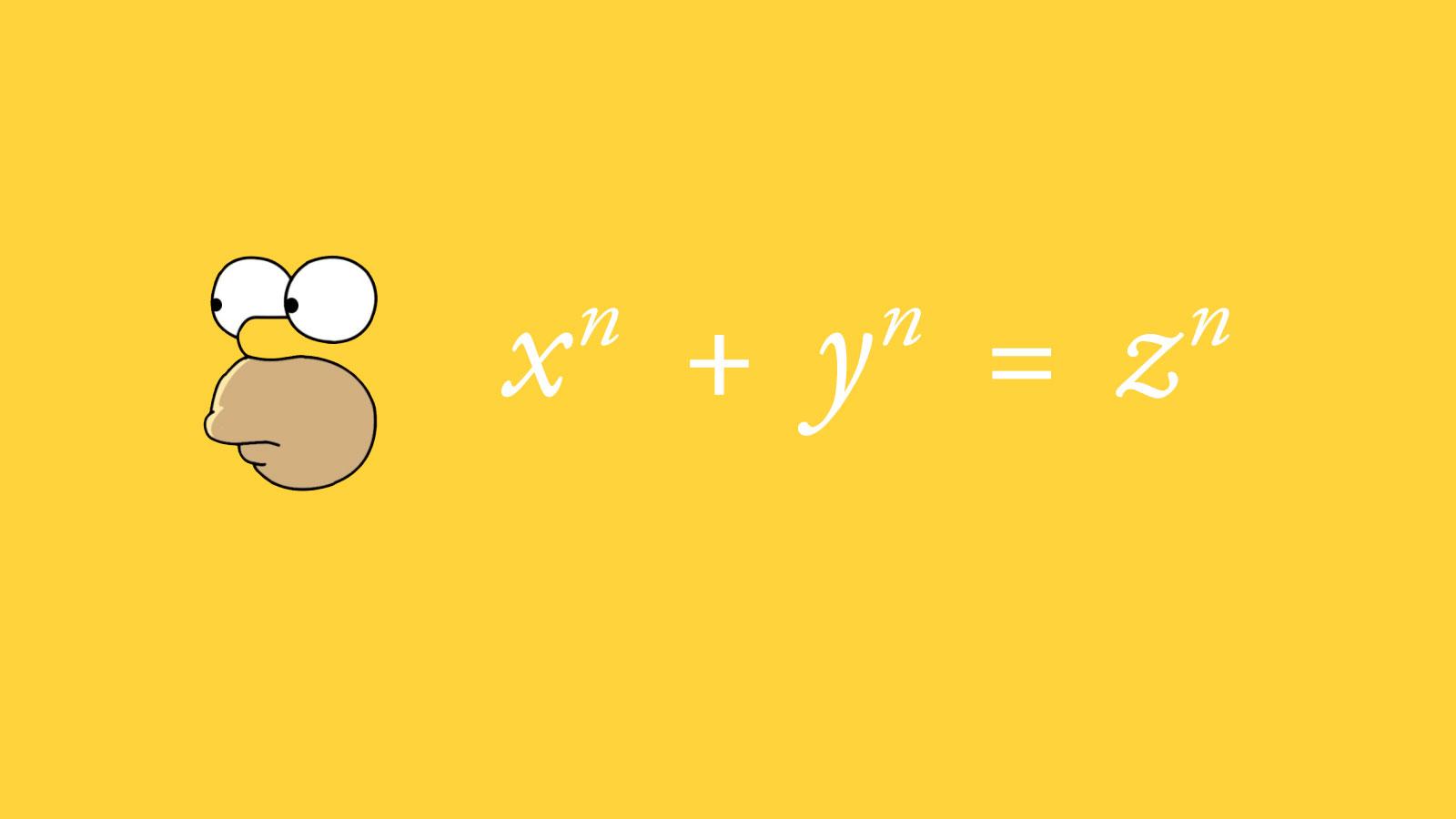Homer's Last Theorem