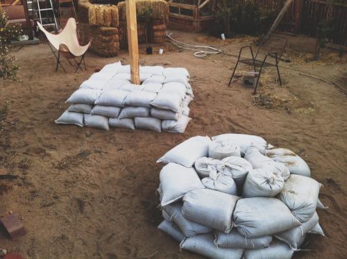 earthbag experiments