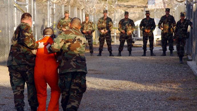 Camp X-Ray, Guantanamo Bay, Cuba. Reuters/Shane T. McCoy