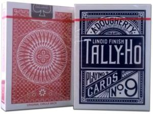 Tally-Ho playing cards are great for magic tricks