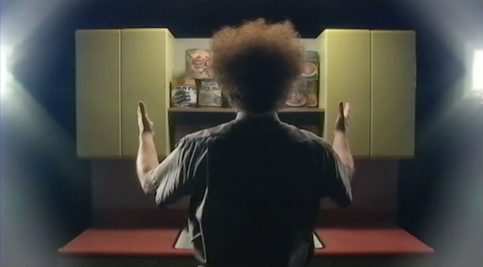 "John C. Reilly as Dr. Steve Brule, from ""Bag Boy"" on Adult Swim television."