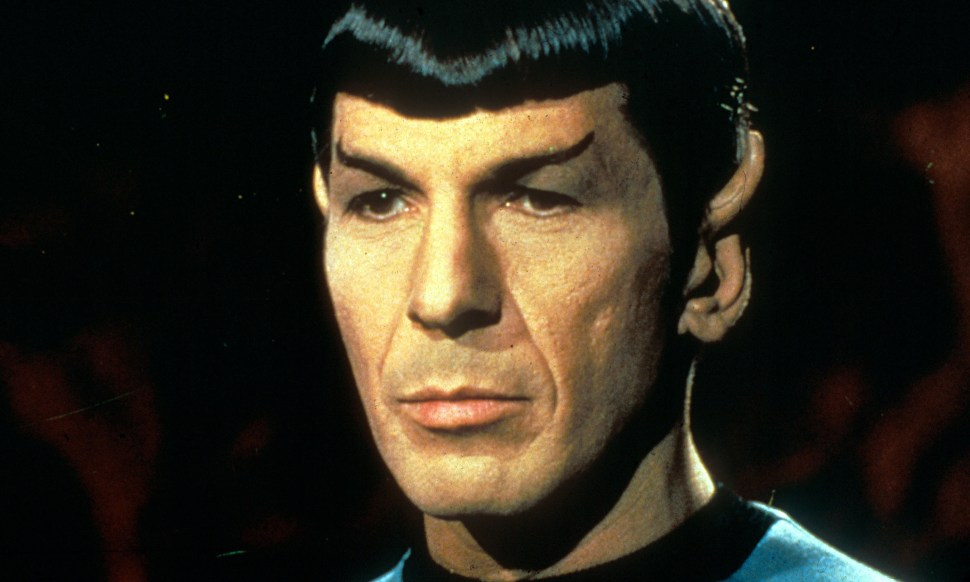 Leonard Nimoy as Mr Spock in Star Trek. Photograph: Moviestore Collect