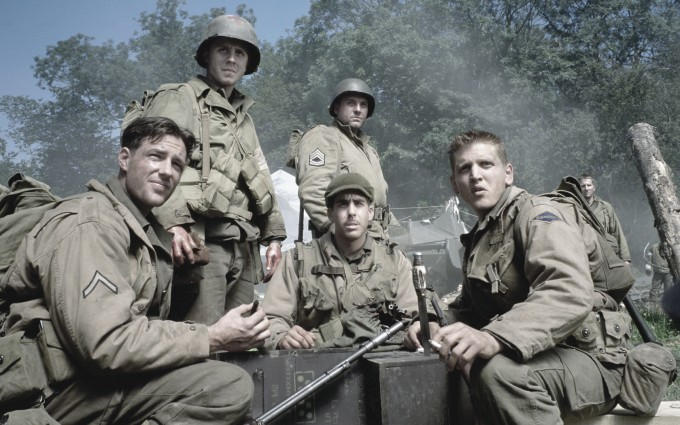 The many men of Saving Private Ryan