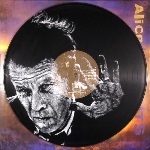 Tom Waits. Vinyl Art by Daniel Edlen.