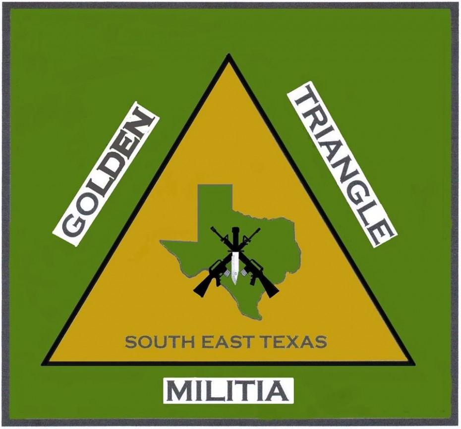 The Golden Triangle Militia logo.