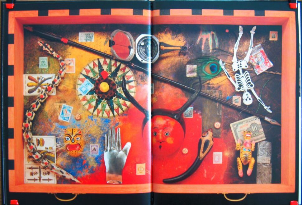Nick Bantock's The Egyptian Jukebox, via Pamela Velner