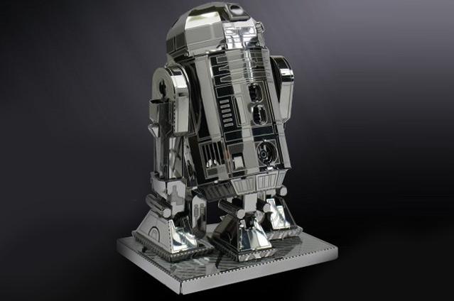 R2d2 Metal Model Kit Boing Boing