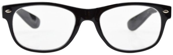 Ray-Ban Wayfarer knock-off reading glasses / Boing Boing