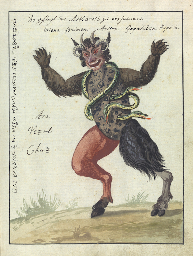 Illustration of a magic beast. Credit: Wellcome Library, London.