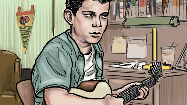 Lou Reed writes Heroin by Ethan Persoff and Scott Marshall