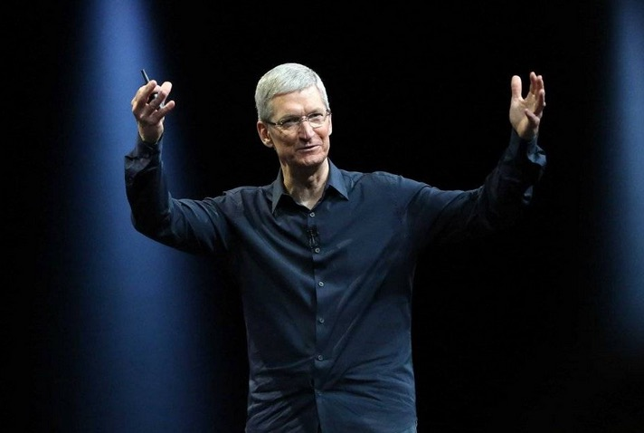 Tim Cook. Image: Reuters
