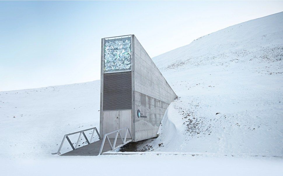 """The Svalbard """"doomsday seed vault."""" Image: The Crop Trust"""