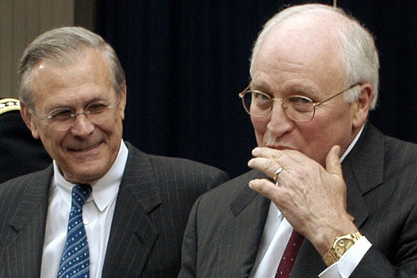 dick-rumsfeld-and-dick-cheney-laughing
