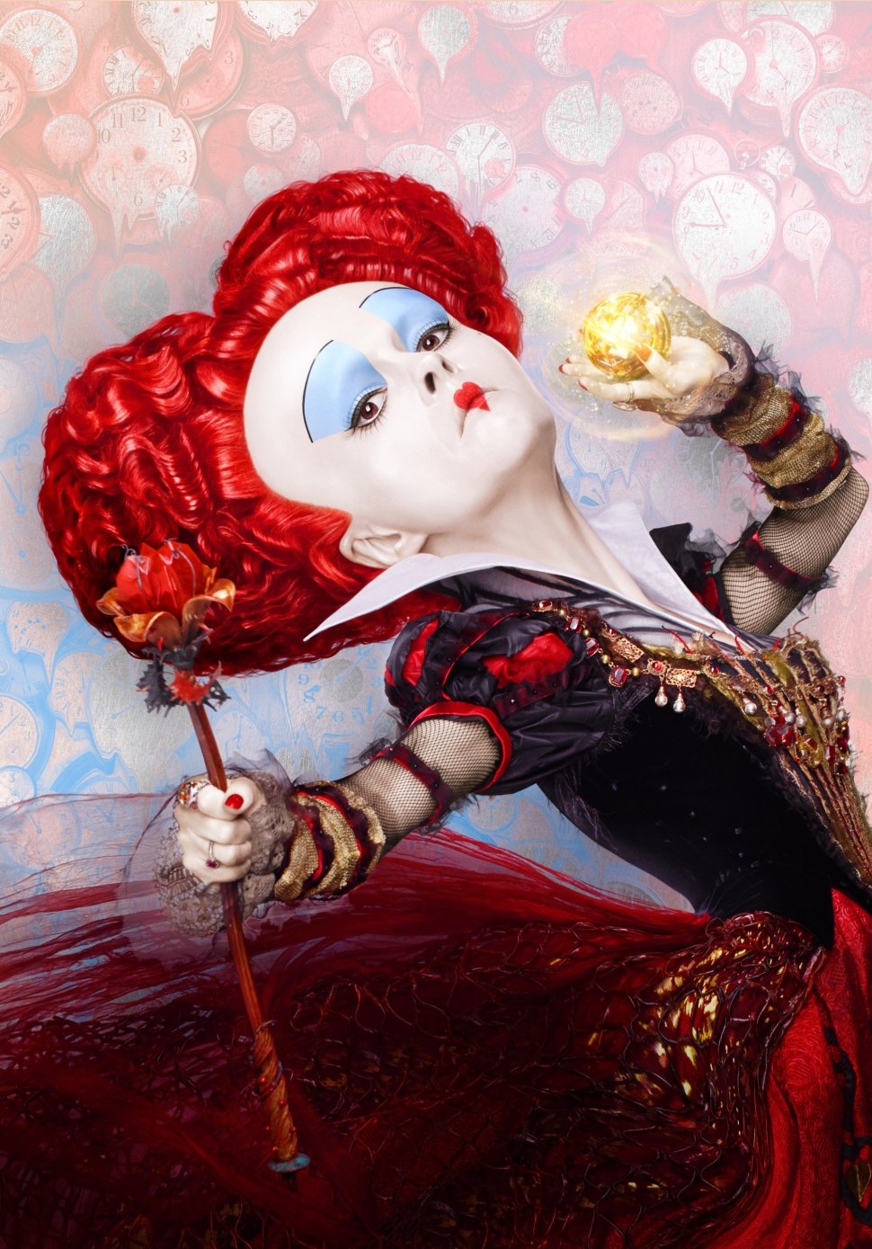 "Helena Bonham Carter is the Red Queen in ""Alice Through the Looking Glass."""