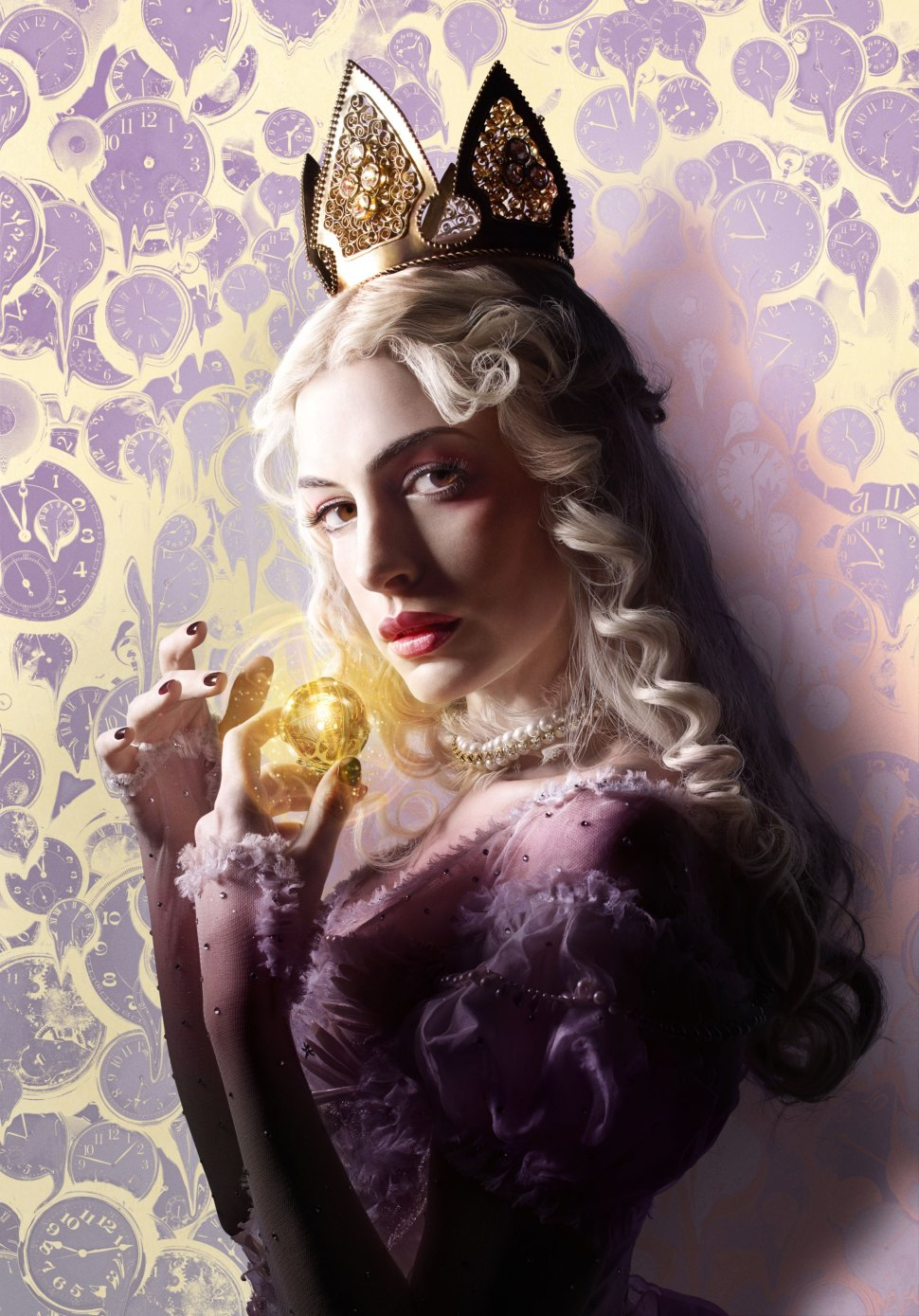 "Anne Hathaway is the White Queen  in ""Alice Through the Looking Glass."""