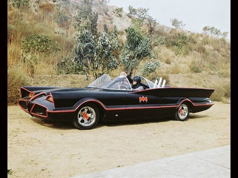 The Batmobile, 1966.