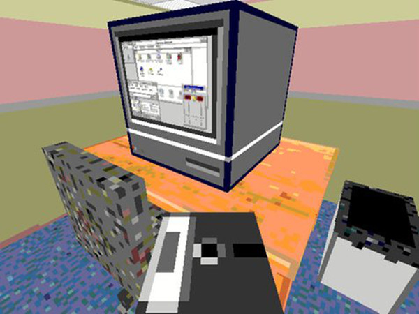 Relive the thrill of using Windows 95 in this office simulator