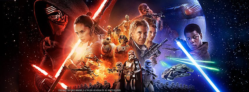 Star Wars Force Awakens Banner