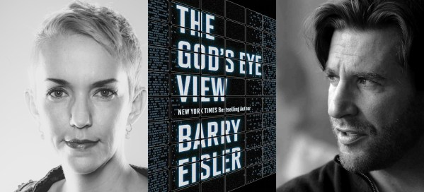 Xeni interviews author Barry Eisler in Los Angeles, Feb. 22, 2016.