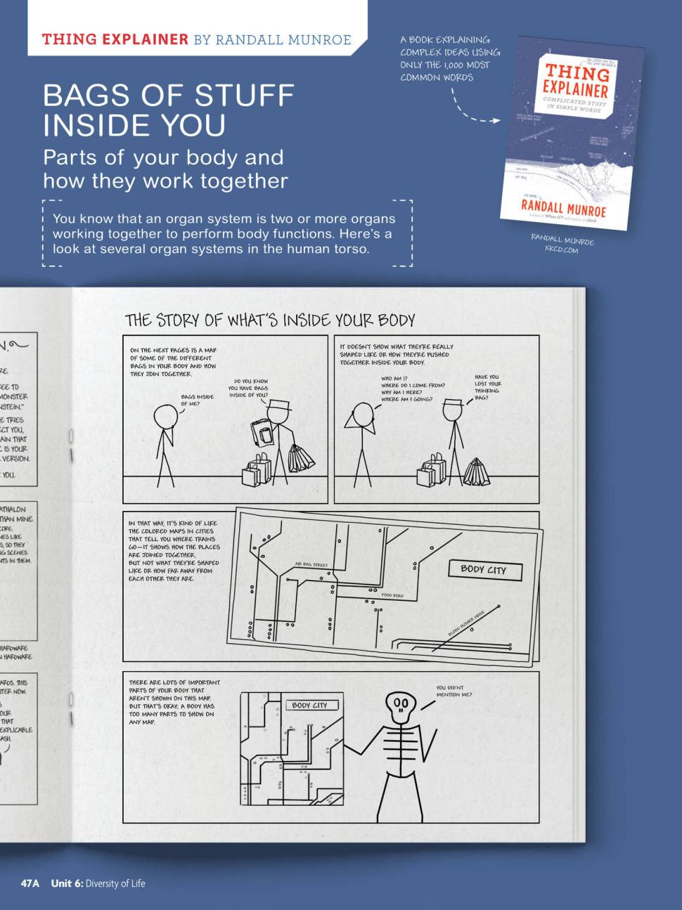 XKCD is coming to America's science textbooks / Boing Boing