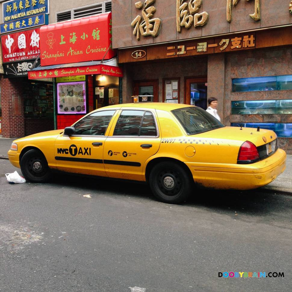 Gallery of all (?) 7 undercover NYPD cars disguised as yellow cabs