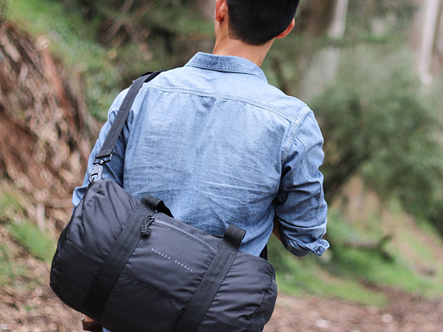 Brave the elements with the Bomber Barrel Duffel Bag - The most funded bag  in Kickstarter history   Boing Boing c9eeb4b5e6