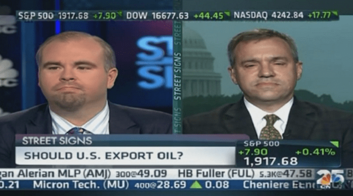 Chris Faulkner on CNBC.