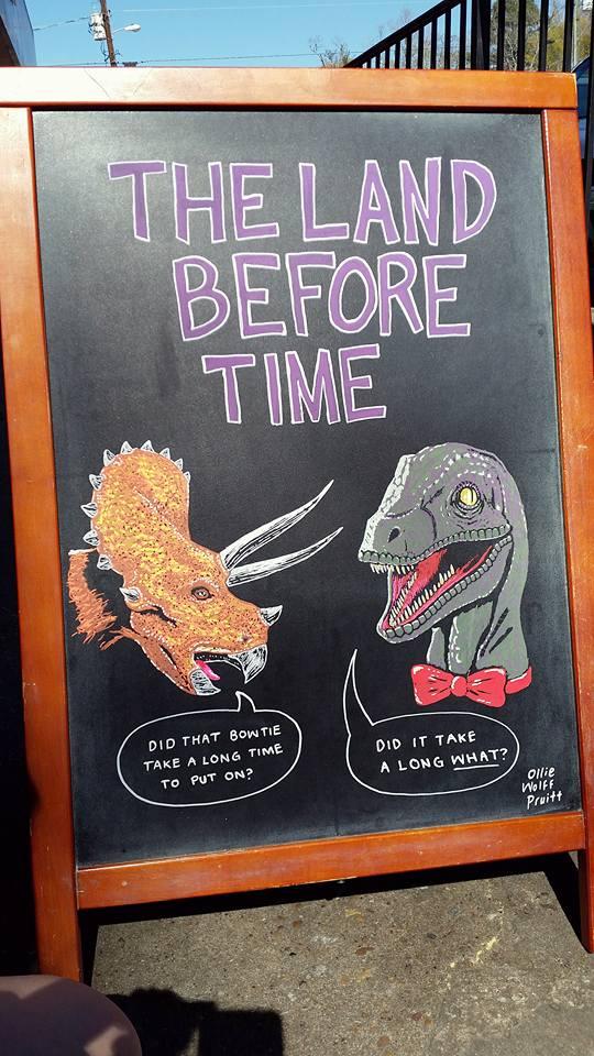 16 - Dinosaur Sign