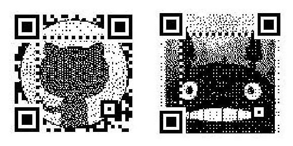 Generate artistic, animated, color QR codes that scan