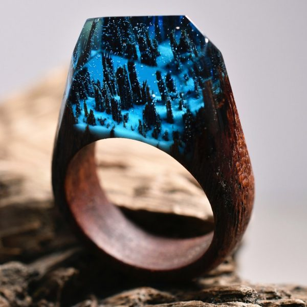 Make Your Own Secret Wood Rings With These DIY Tips Boing Boing - Inside each of these wooden rings is a beautiful hidden world