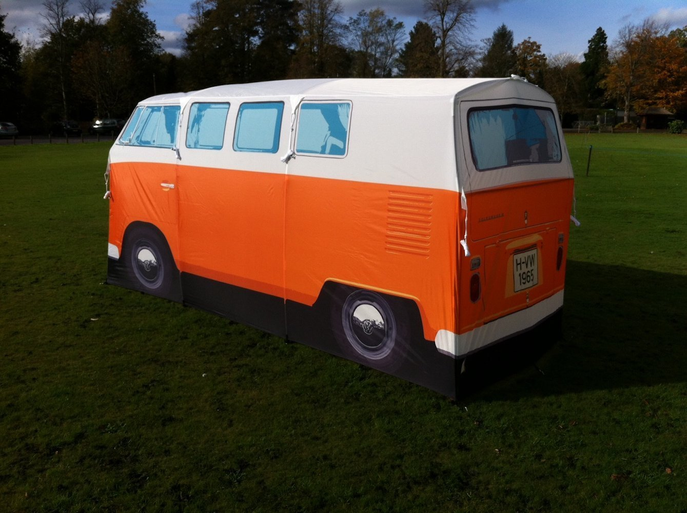 71nduzzq4el-_sl1339_ & A Volkswagen microbus tent for camping or just hanging out ...