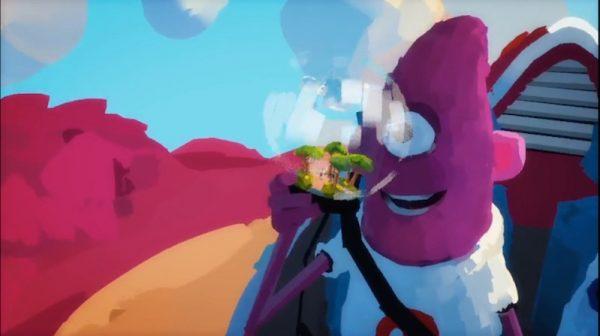 This illustration demonstrates VR's