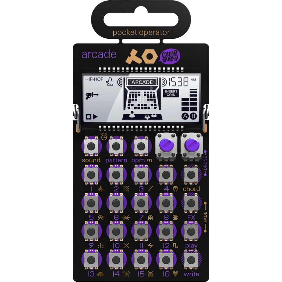 Boing Gift Guide 2016 Holiday Lighting Sequencer Circuit Diagram Super Absolutely Delightful And Quite Powerful Synthesizer Modules Sequencers In The Form Factor Of You Guessed It A Pocket Calculator