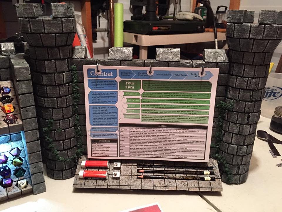 Gamer Gifts Ultimate Homemade Dungeon Master Screen