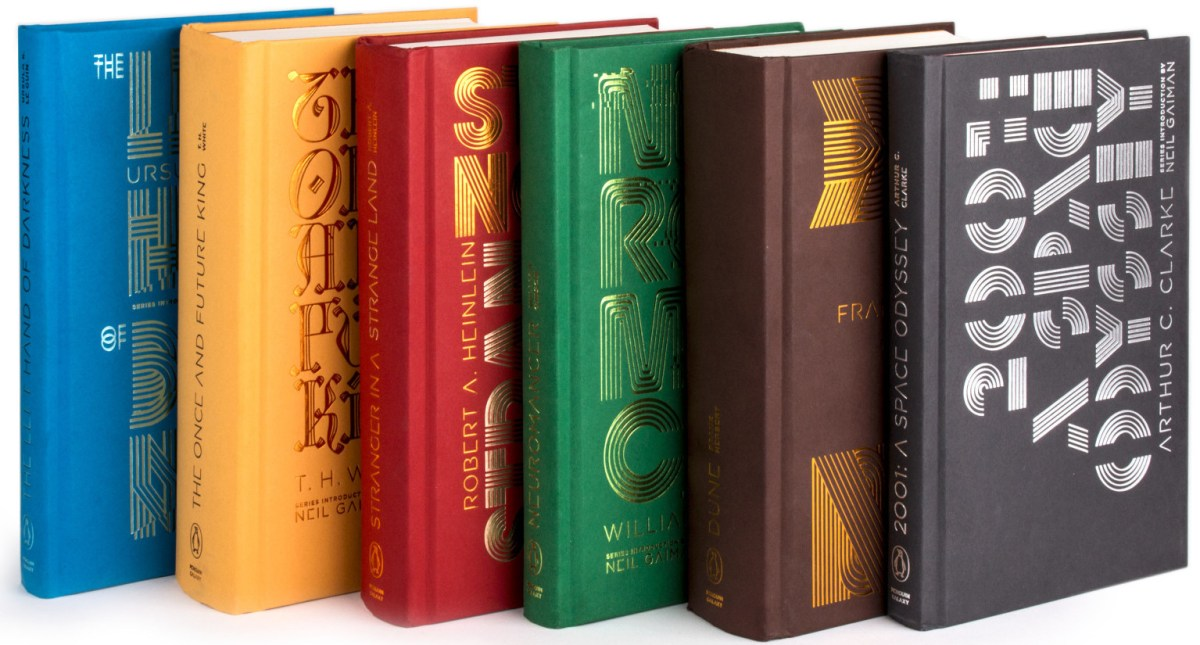 Penguin Galaxy: a boxed set of six science fiction greats, introduced by Neil Gaiman