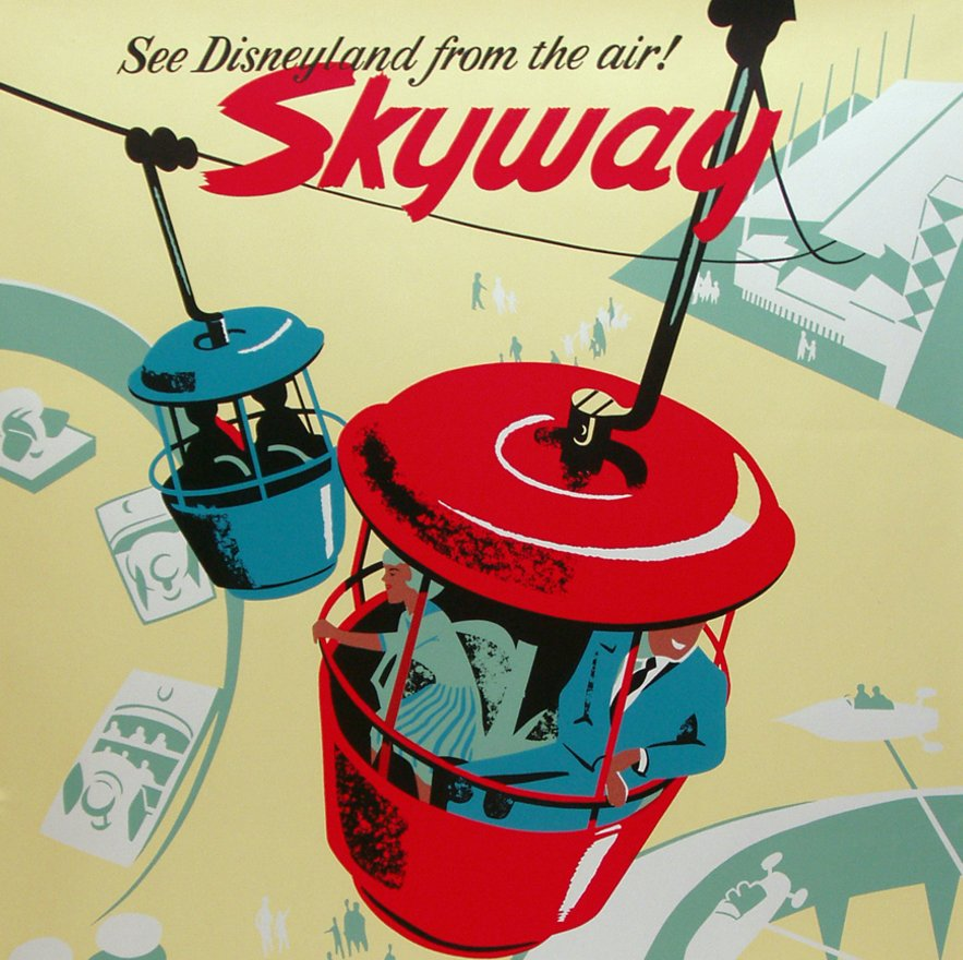 "Park Design Tìm Với Google: Disney Wants To Build An ""aerial Tramway"" Between The"