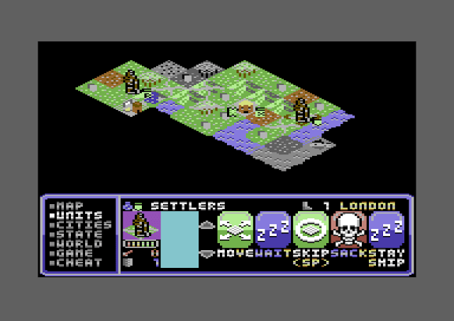 Civilization ported to 8-bit Commodore 64 / Boing Boing