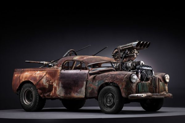 The Mad Max Cars Look Just As Fantastic Before The Dirt Boing Boing