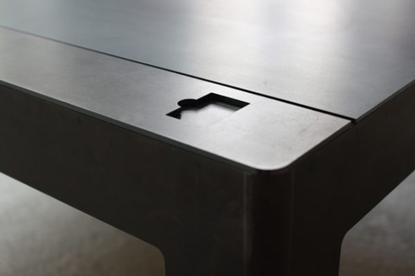 The First Can Coast One Drink; The Latter A Great Many. Floppytable Is Made  Of Hot Rolled Steel And The Creator, Neulant Van Exel, Will Apparently Make  One ...