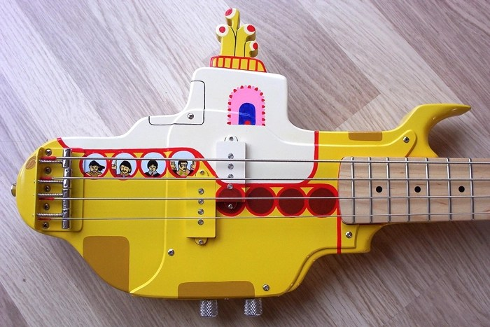 Check Out This Psychedelic Yellow Submarine Bass Boing