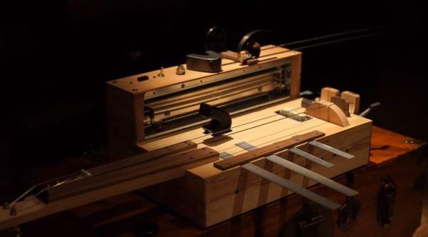 The Apprehension Engine: custom musical instrument generates natural nightmare noises